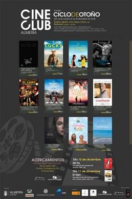 Cartel CineClub Almería - Cine