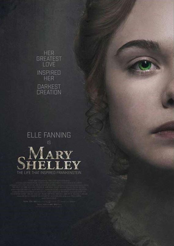 MARY SHELLEY - cine