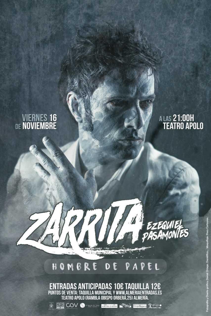 Zarrita - Hombre de papel