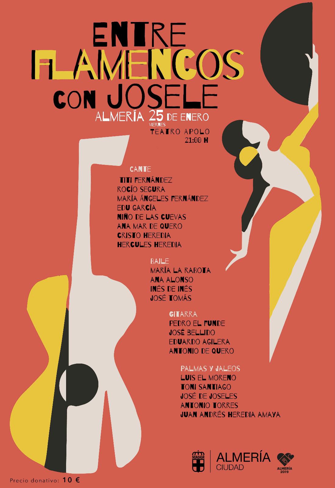 entre flamencos con josele