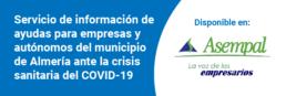 Servicio de información para empresas de Almería sobre la crisis del coronavirus