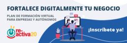 Plan de formación de apoyo al fortalecimiento digital de empresas y autónomos.