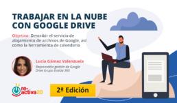 Trabajar en la nube - Google Drive - Empleo - Ayuntamiento de Almería