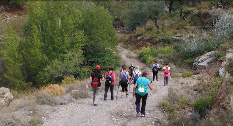 Inscripciones ruta senderismo Almería
