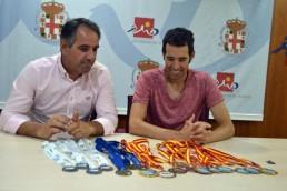 Carlos Tejada - 18 medallas - Natación