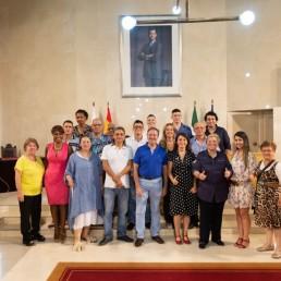 Presidencia y movimiento vecinal - Ayuntamiento de Almería - Encuentro Comunidad Colombiana en Almería