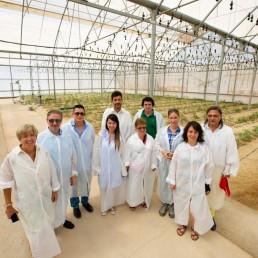 Presidencia y Movimiento Vecinal - Ayuntamiento de Almería -Tecnova, experimentación en agricultura