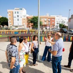 Presidencia y movimiento vecinal - Ayuntamiento de Almería - Urbanismo - PERI Barrio Alto