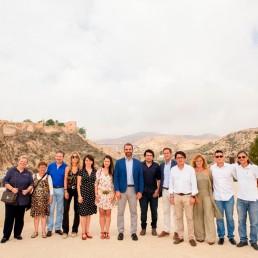 Presidencia y movimiento vecinal - Ayuntamiento de Almería - Encuentro con el Alcalde