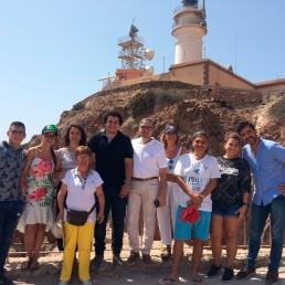 Presidencia y movimiento vecinal - Ayuntamiento de Almería - Visita guiada al Cabo de Gata