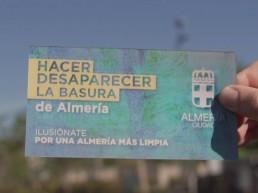 Tarjeta - Ilusiónate por una Almería más limpia
