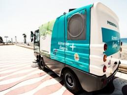Servicios Municipales y Playas - Barredora mecánica