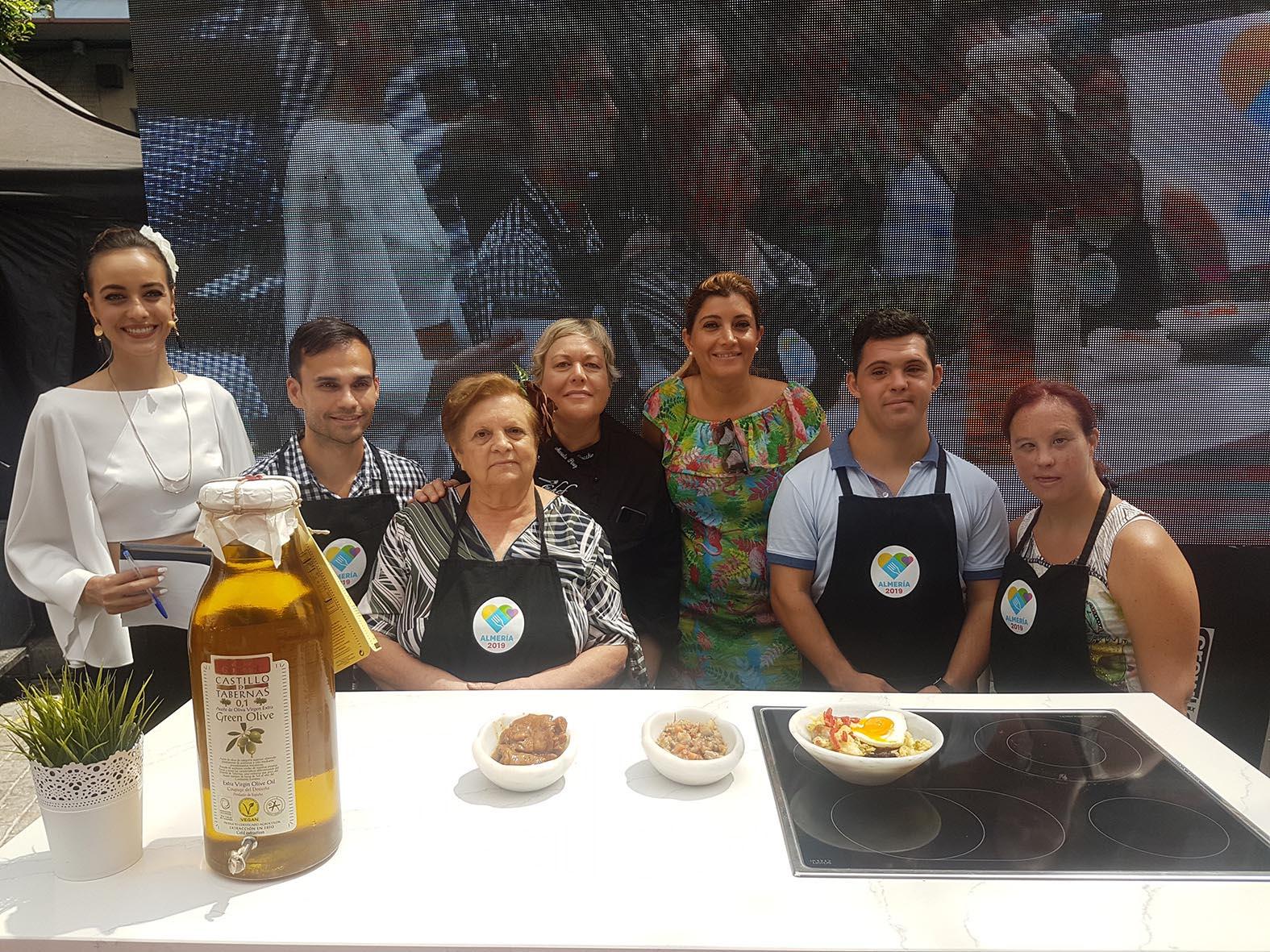 El tramo gastronómico despide la Feria de 2018 con los ganadores del certamen 'Chefs en Casa'