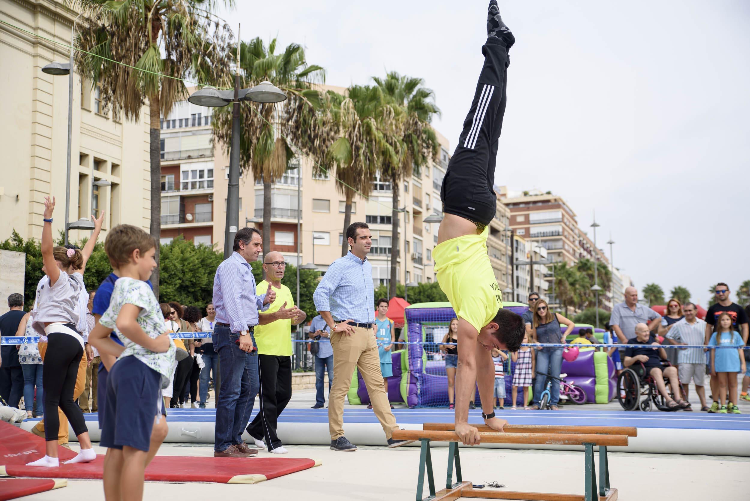 El PMD sacará a la calle veinticuatro deportes para fomentar su práctica, el próximo 30 de septiembre
