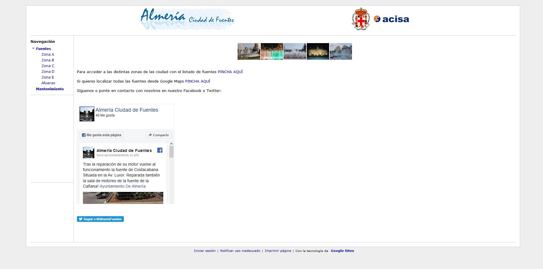 Almería Ciudad de Fuentes