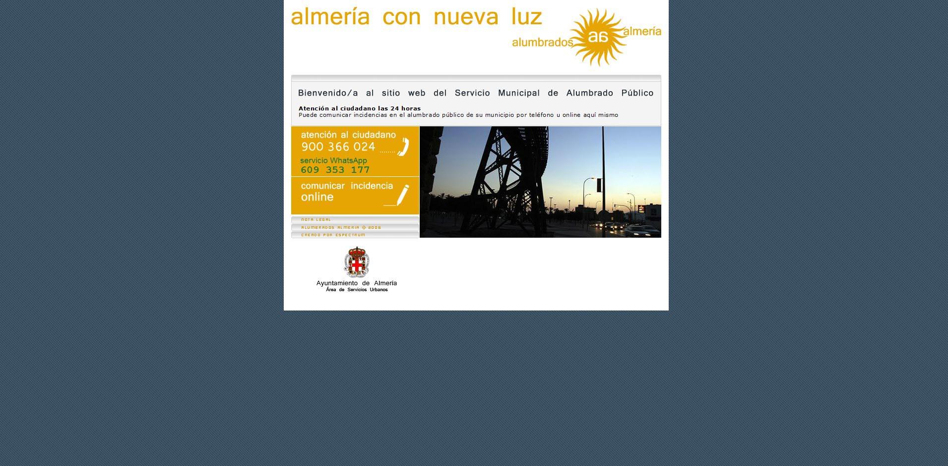 Alumbrados Almería