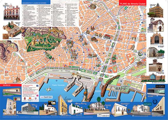 Mapa Almería - Ayuntamiento de Almería