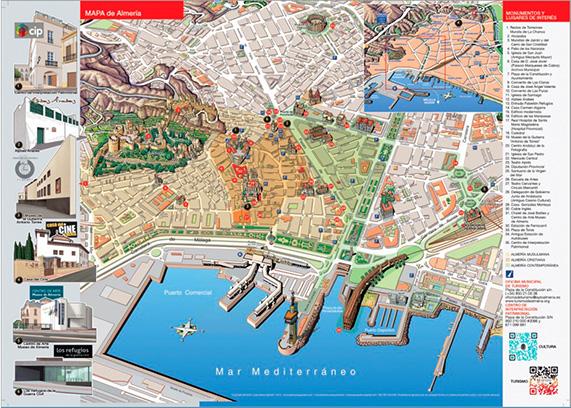 Mapa museos - Ayuntamiento de Almería
