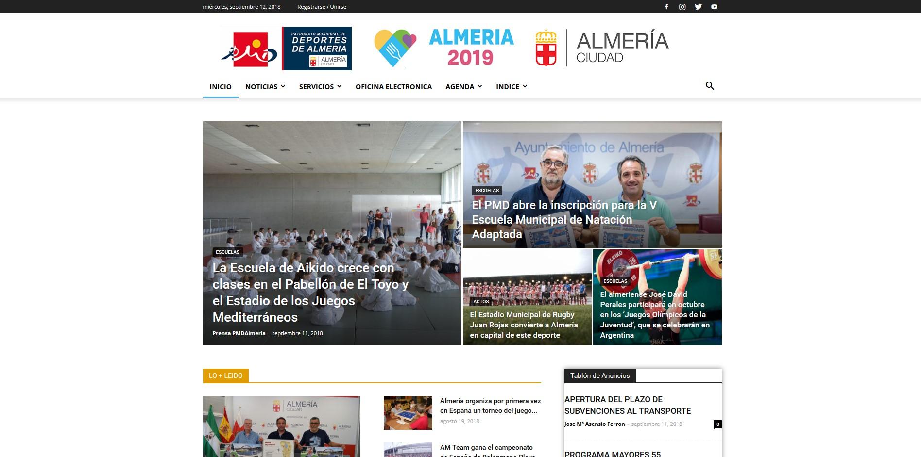 Patronato Municipal Deportes Almería
