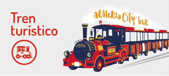 Tren turístico - Autobuses urbanos - Ayuntamiento Almería