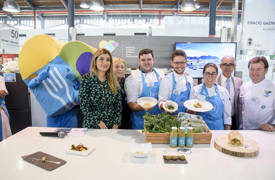 Almería acoge la semifinal del concurso gastronómico de jóvenes talentos de los Premios Sakata