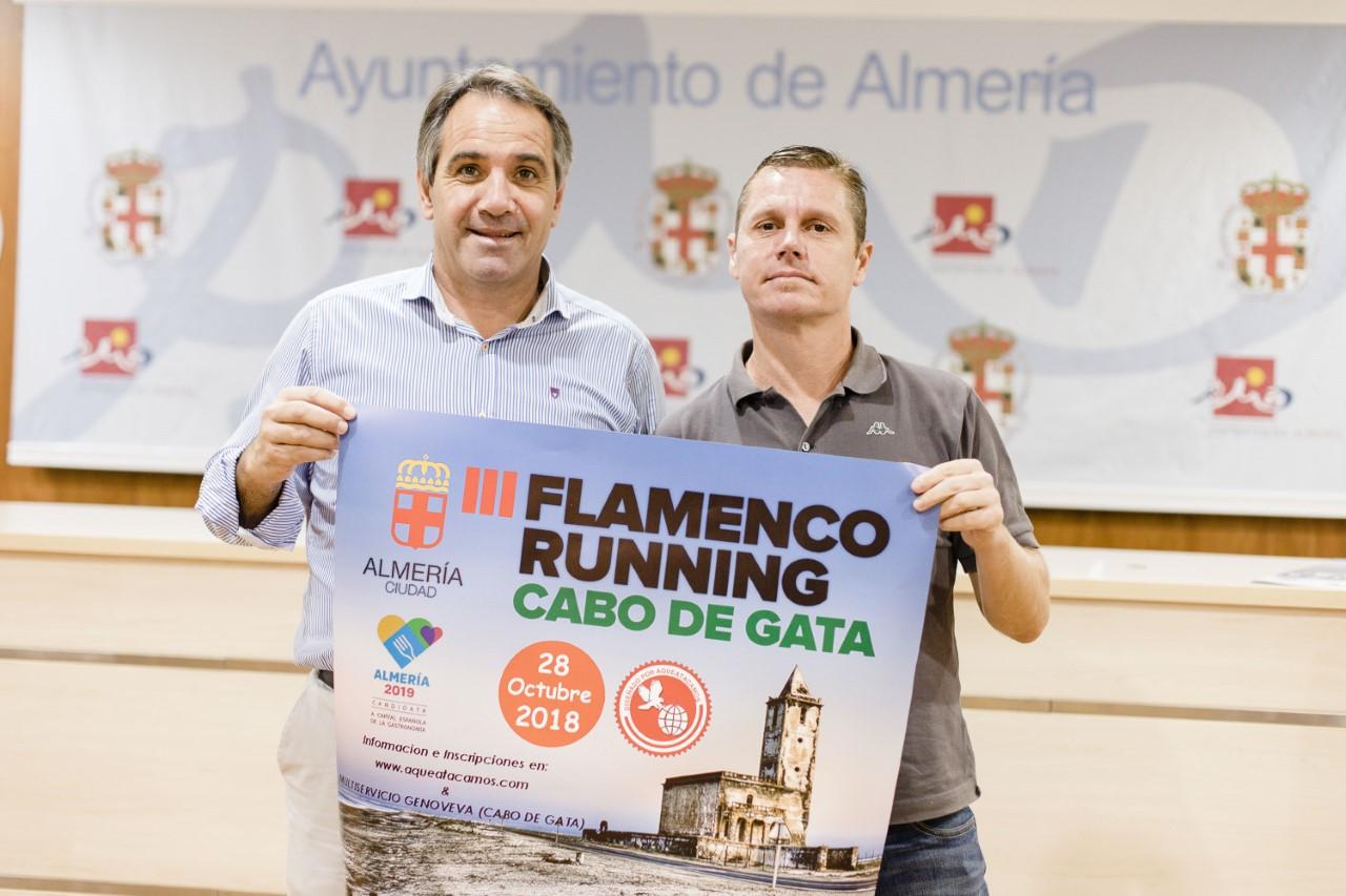 Más de 500 deportistas recorrerán el Cabo de Gata en la III Flamenco Running el 28 de octubre