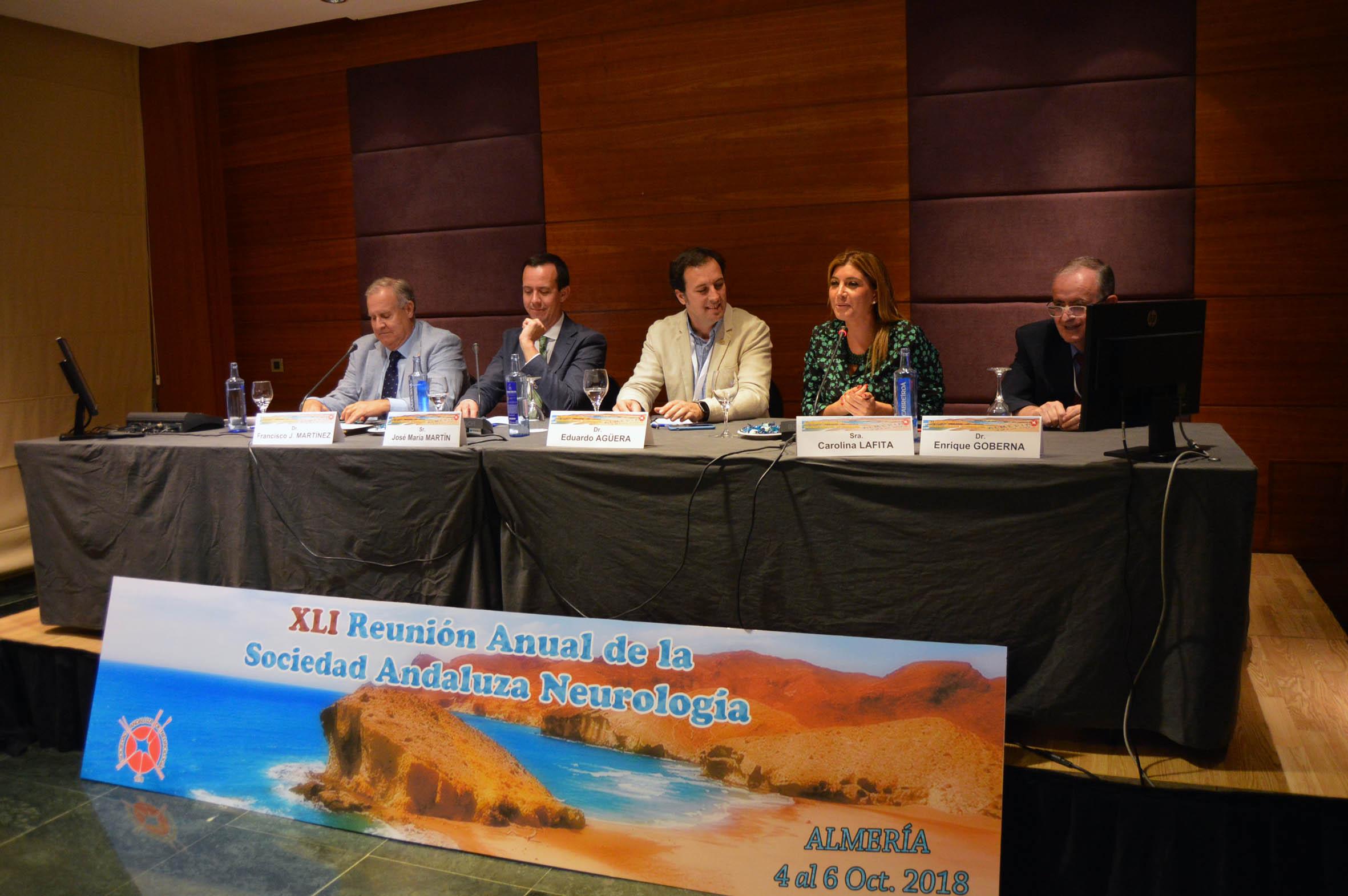 La Sociedad Andaluza de Neurología celebra en Almería su 41ª Reunión Científica