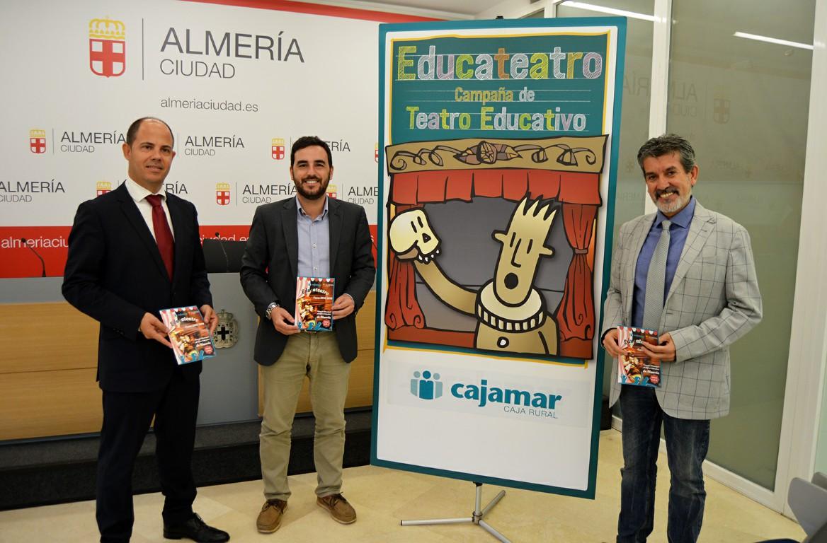Más de 10.000 escolares disfrutarán del programa 'Educateatro' durante el curso