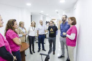 """El alcalde destaca la """"noble tarea"""" que la asociación ALTEA realiza con 140 niños con autismo o trastorno del lenguaje y sus familias"""