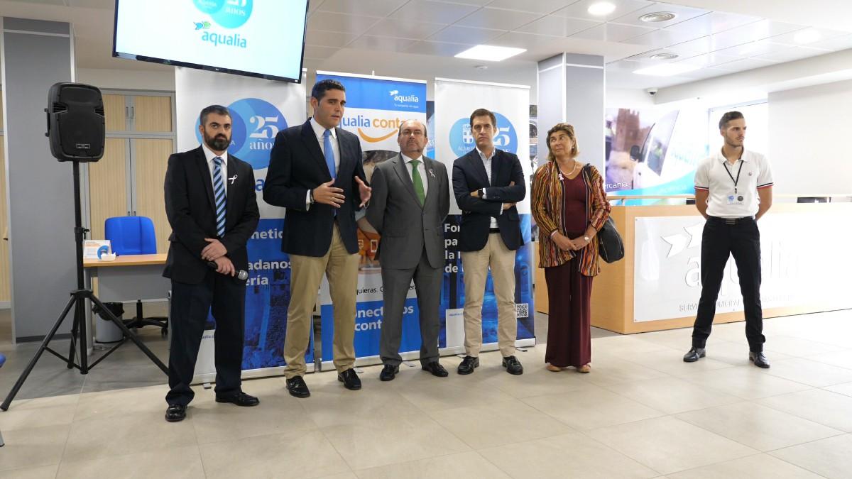 Aqualia estrena oficina en Almería con diversas mejoras en la atención al cliente