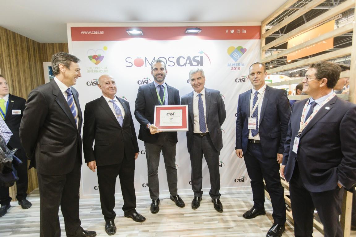 """El alcalde anima al sector agroalimentario en Fruit Attraction a """"aprovechar el altavoz"""" que supone ser Capital Española de la Gastronomía 2019"""