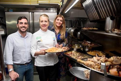 Carolina Lafita y Carlos Sánchez inauguran las XI Jornadas Gastronómicas de 'La Encina'