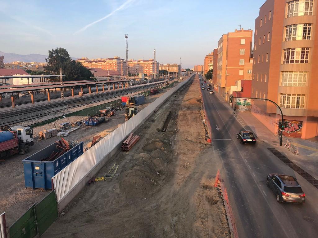 La Carretera Sierra Alhamilla quedará limitada, a partir del domingo, a un solo carril de circulación, en sentido norte