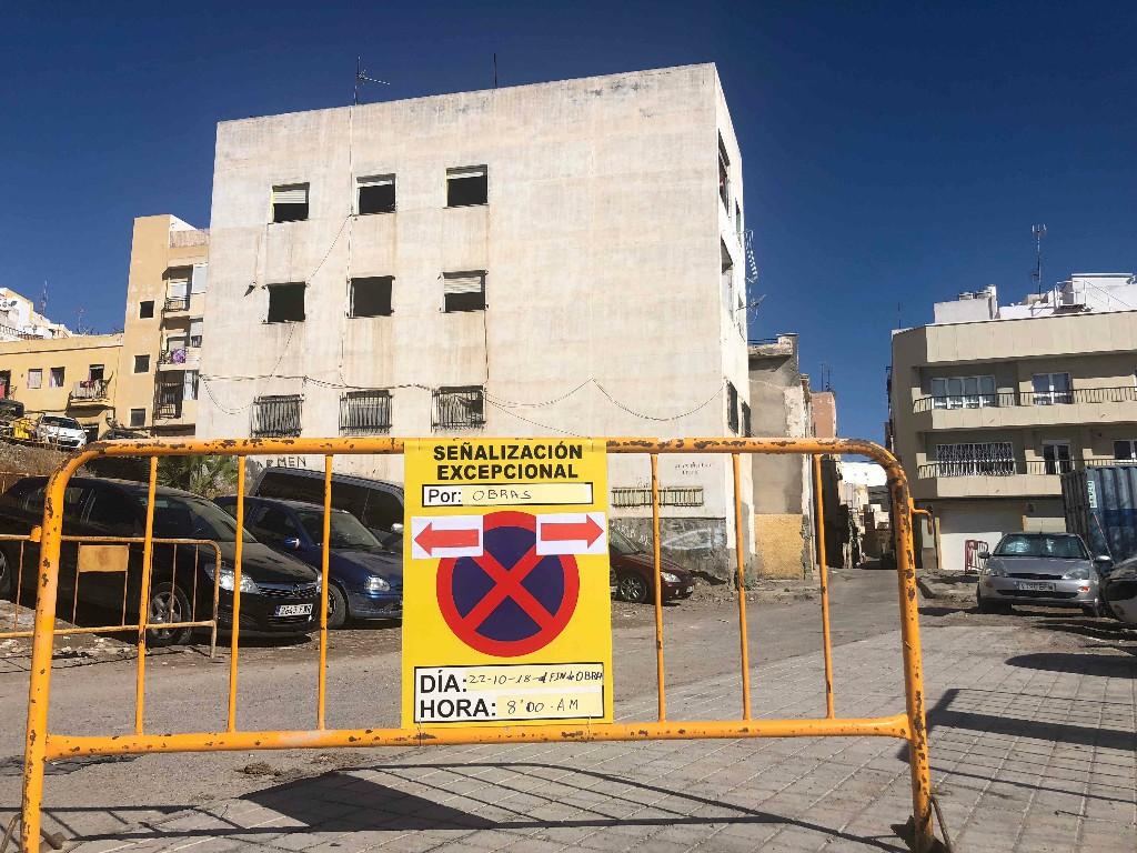 La ampliación de la calle Pósito arrancan el martes con la demolición de un edificio que afecta a la ordenación urbanística en esta zona