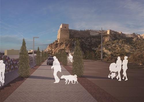 El Ayuntamiento licita las obras para la conexión viaria entre las calles Almanzor y Pósito y la mejora paisajística del entorno del Parque de La Hoya