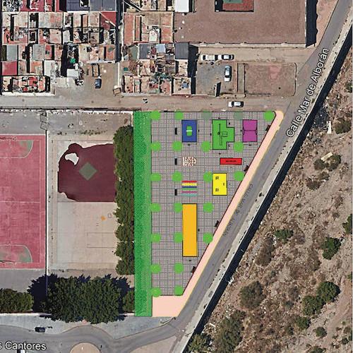El Ayuntamiento invertirá 100.000 euros en la remodelación de un solar de 1.500 m2, en El Puche, adecuándolo para su uso público