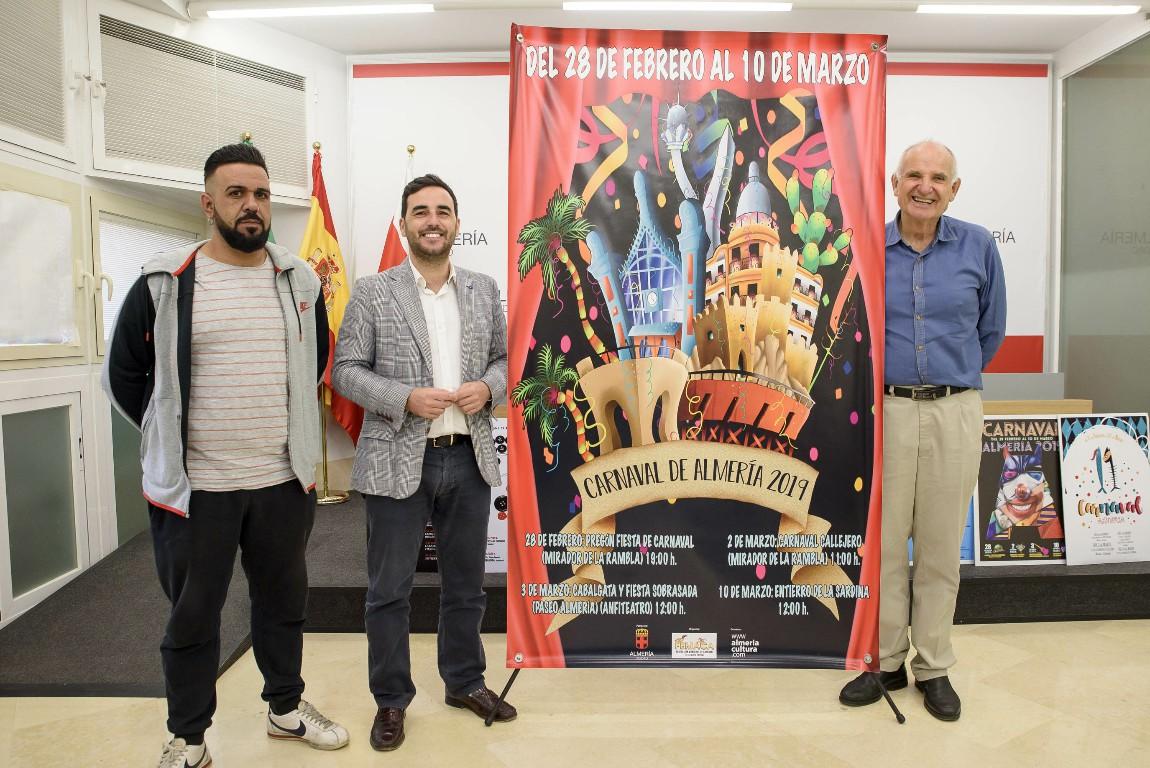 El Carnaval 2019 echa a andar con el cartel anunciador y con importantes novedades
