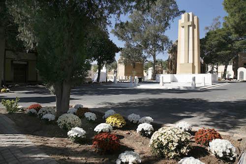 El Ayuntamiento activa desde mañana y hasta el 2 de noviembre el dispositivo especial en cementerios municipales con motivo del Día de Todos los Santos