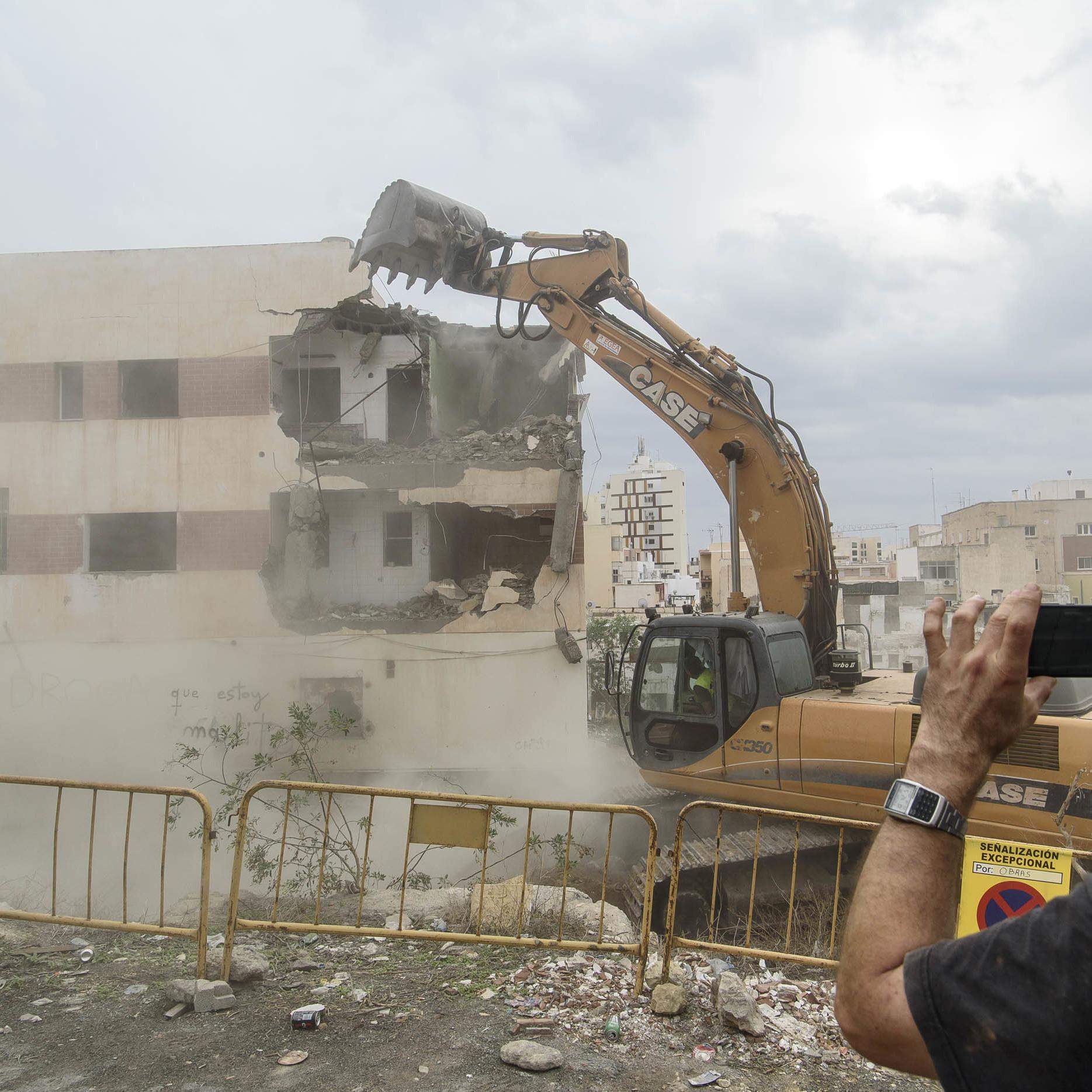 La nueva ordenación urbanística del entorno de San Cristóbal arranca con las obras de ampliación de la calle Pósito