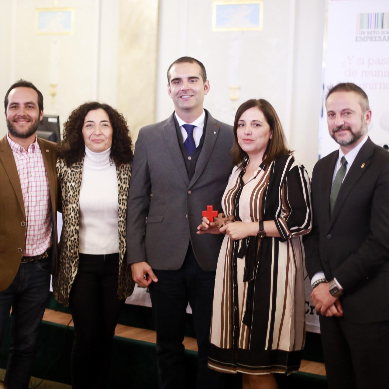 """El alcalde felicita a todas las empresas que en Almería """"hacen bien las cosas"""" y """"trabajan para crear más oportunidades para más gente"""""""