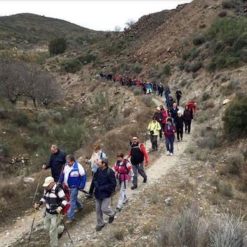 Almería deportes rutas senderismo