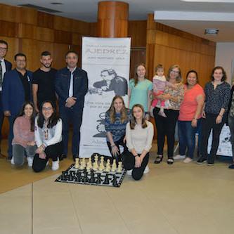 Jugadoras profesionales compiten en Almería para lograr la norma 'Maestra Internacional de Ajedrez'