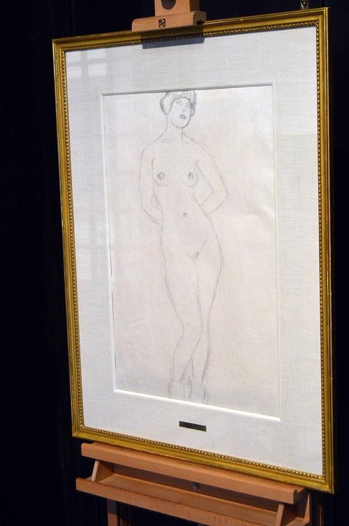 La obra invitada de Gustav Klimt prorroga su estancia en el Museo de Arte 'Doña Pakyta' hasta el 18 de noviembre