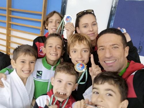 La EDM Kanku logra 13 medallas en el Campeonato de Andalucía de Promoción de Kárate