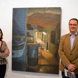 Mariquina Ramos y los Refugios protagonizan una nueva exposición en la sala Jesús de Perceval del 'Espacio 2'