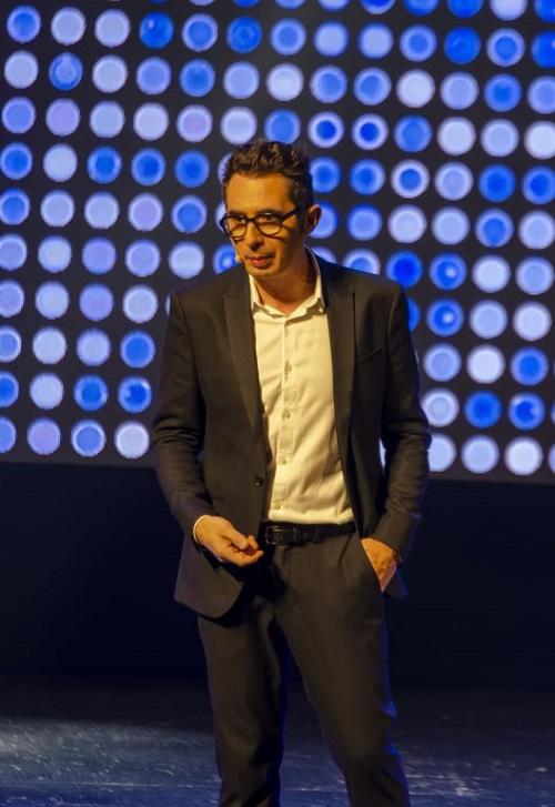 Berto Romero abrió ayer las puertas a la risa en un abarrotado Auditorio Maestro Padilla