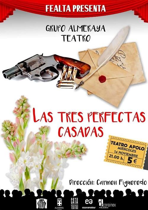 'Las Tres Perfectas Casadas', nueva obra del Programa Estable de Teatro Aficionado en el Apolo