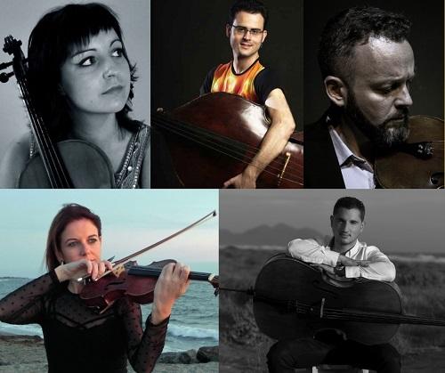 'El Barroco va al Cine', nueva cita con el quinteto de cuerdas de la OCAL, el jueves en la iglesia de la Compañía de María