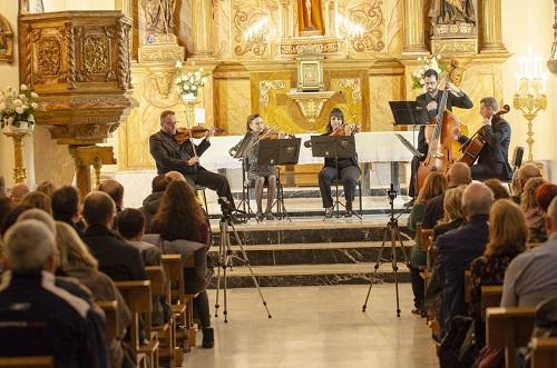 La OCAL fusiona la música barroca y el cine en un brillante concierto en la iglesia de la Compañía de María