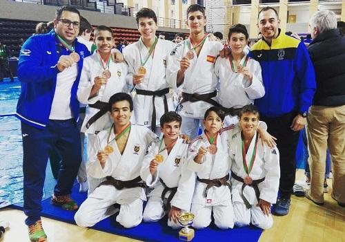 El almeriense Jairo Giménez logra la medalla de bronce en el mayor torneo juvenil de judo de Portugal